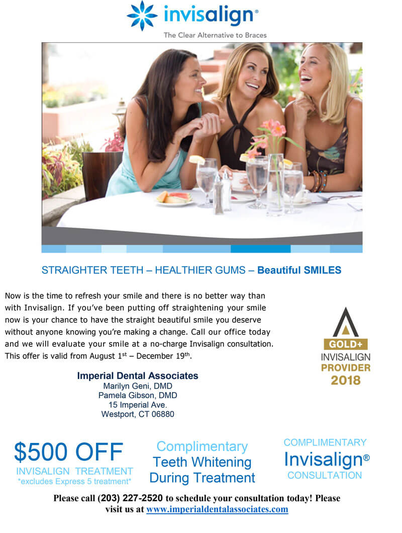 Get $500 Off of Invisalign in Westport, CT